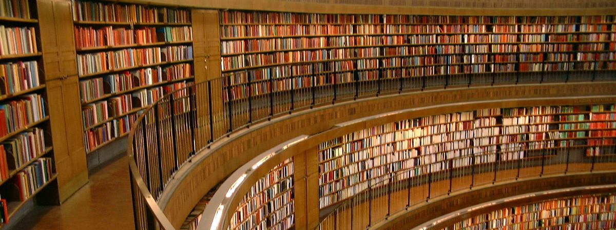 Biblioteca de Estocolmo.
