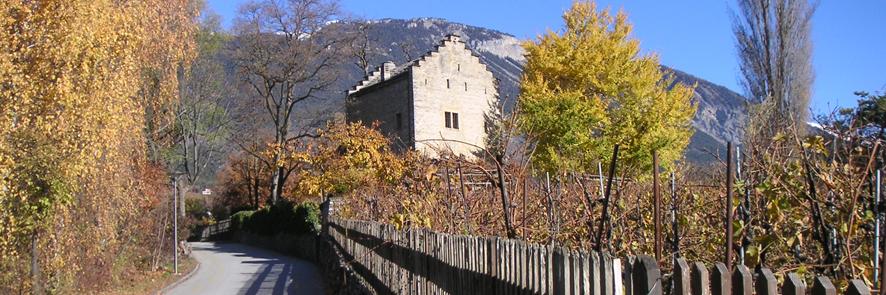 Château de Muzot en Veyras, Suiza, donde Rilke completó las Elegías de Duino en febrero de 1922.